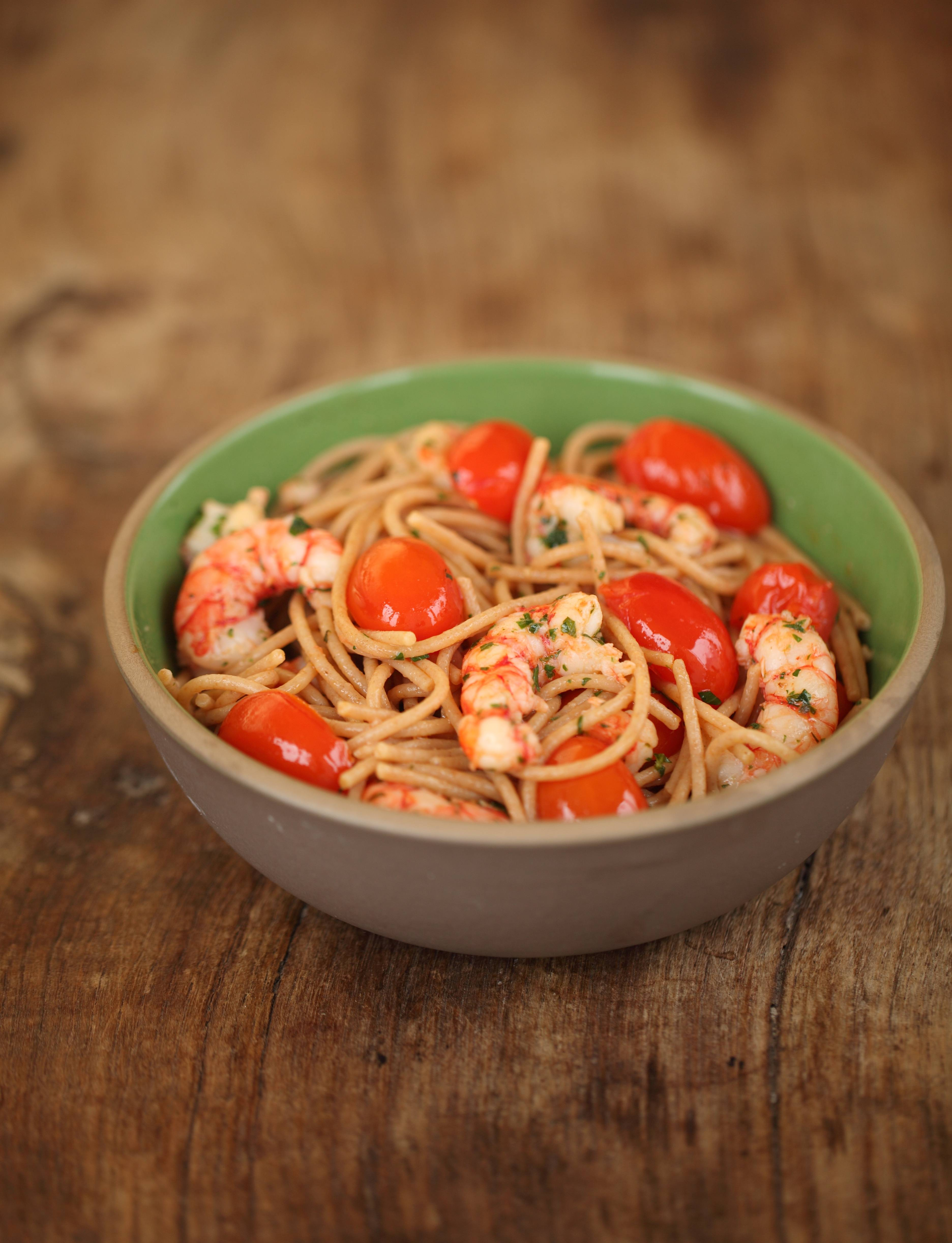 Pasta Cooked Italian-style with Cherry Tomatoes | Jovial Foods, Inc.