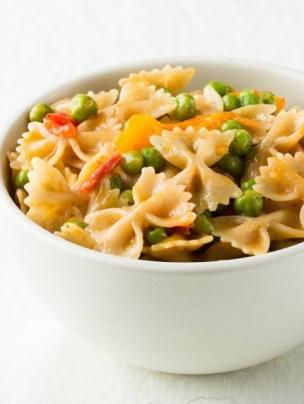 Gluten Free Italian Stir-Fried Farfalle Pasta