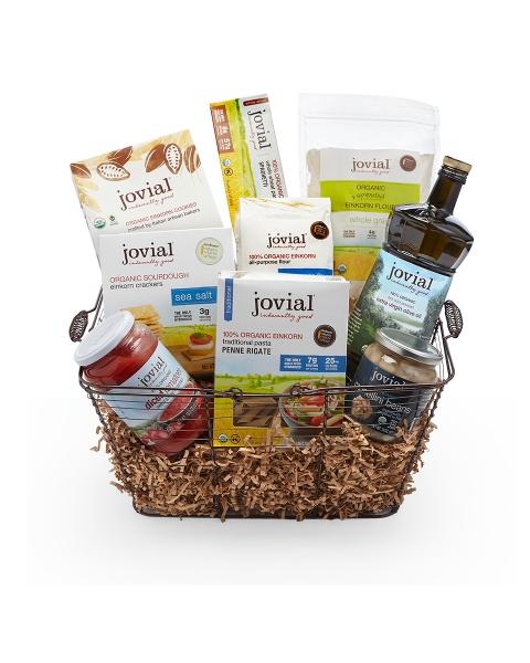 Gluten free gifts einkorn gift basket jovial foods jovial einkorn gift basket negle Image collections
