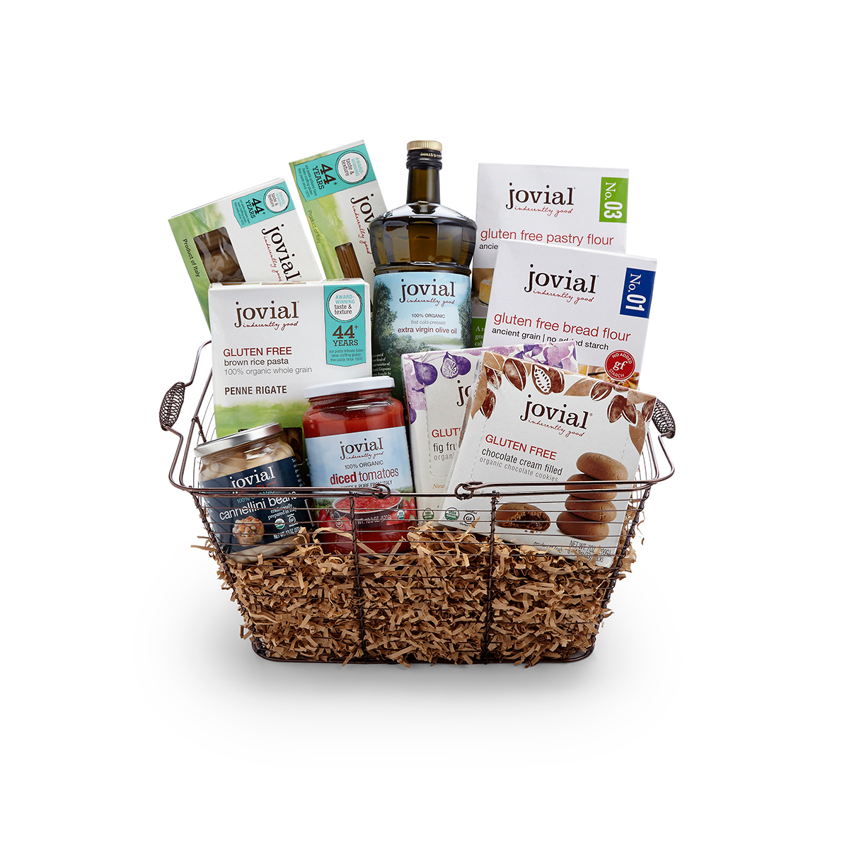 Jovial gluten free gift basket jovial foods inc gluten free gift basket glutenfreeturkeyspinachmanicotti negle Gallery