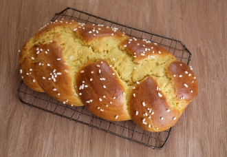 Einkorn Easter Bread