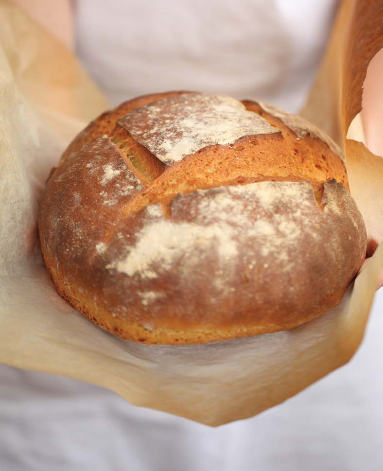 how to make bread with all purpose flour
